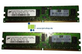 HP 4 GB (2x2GB) Advanced ECC PC-2 6400P 800 MHz DDRII SDRAM Kit 240 PIN REF