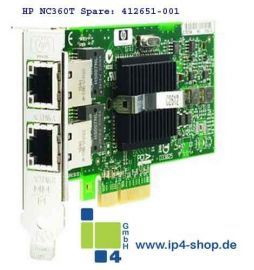 HP NC360T PCI Express Dual Port Gigabit Server PCI Express REF