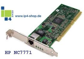 HP Compaq NC7771 Gigabit Ethernet NIC 10/100/1000Base-T PCI-X 133 Mhz...