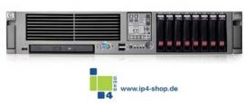 HP Proliant DL385 G2/G5 2x 8356 QC Core, 8 GB RAM, 2x72GB HDD, E200...